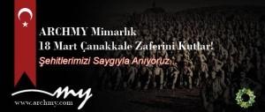 ARCHMY Mimarlık 18 Mart Çanakkale Zaferini Kutlar