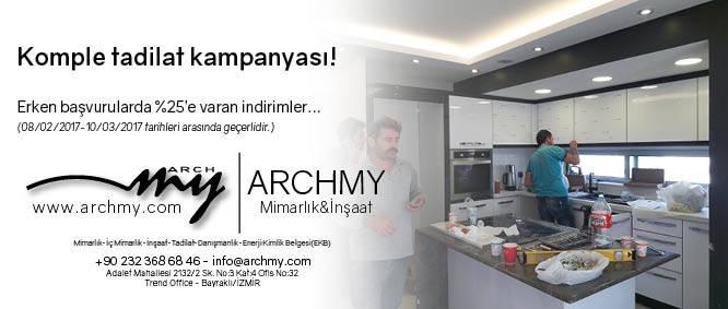 ARCHMY Mimarlık Komple Tadilat, Yenileme Kampanyası