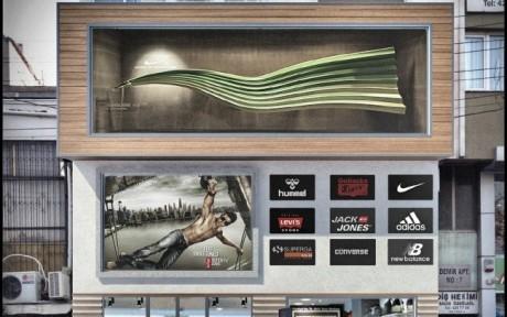 """d7ccef2991702 ARCHMY Mimarlık, Mimar Muhittin YUFKA tarafından hazırlanan, """"Buca Outler Spor  Giyim Mağazası Tadilat"""" öneri projesini incelemektesiniz."""