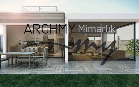 ARCHMY Mimarlık İzmir Karaburun M-Y Evi Mimari Proje Tasarım Mimar Muhittin YUFKA