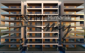 ARCHMY Mimarlık İzmir Narlıdere Apartman Konut Mimari Proje Tasarım Mimar Muhittin YUFKA