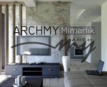 """ARCHMY Mimarlık, Yüksek Mimar Muhittin YUFKA tarafından hazırlanan, """"Bayraklı Ar. İnş."""" mimari ve uygulama projesini incelemek için sayfamızı ziyaret edin."""