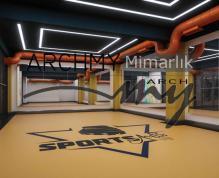 """ARCHMY Mimarlık, Yüksek Mimar Muhittin YUFKA tarafından hazırlanan, """"Buca Sport Art Vip"""" mimari ve uygulama projesini incelemek için sayfamızı ziyaret edin."""
