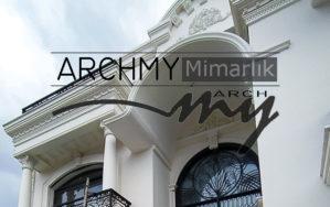 """ARCHMY Mimarlık, Yüksek Mimar Muhittin YUFKA tarafından hazırlanan, """"İzmir S-S Villa"""" mimari projesini ve inşaatını incelemek için sayfamızı ziyaret edin."""