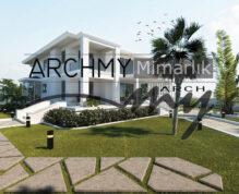 """ARCHMY Mimarlık, Y. Mimar Muhittin YUFKA tarafından hazırlanan, """"Yenişakran Aliağa M-M Evi"""" uygulama projesini incelemek için sayfamızı ziyaret edin."""