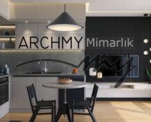 """ARCHMY Mimarlık, Y. Mimar Muhittin YUFKA tarafından hazırlanan, """"GK İnşaat Narlıdere Tasarımı"""" uygulama projesini incelemek için sayfamızı ziyaret edin."""